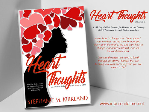 HEART THOUGHTS VOLUME 2 365 DAY JOURNAL