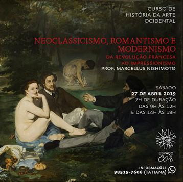 NEOCLASSICISMO, ROMANTISMO E MODERNISMO