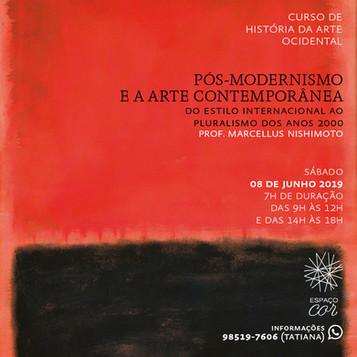 PÓS-MODERNISMO E A ARTE CONTEMPORÂNEA