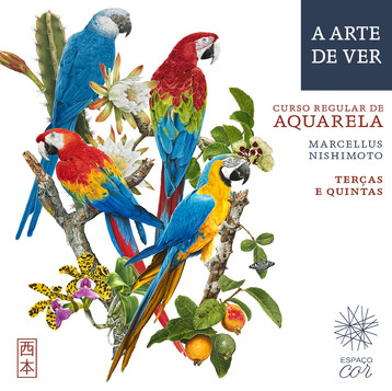 CURSO REGULAR DE AQUARELA