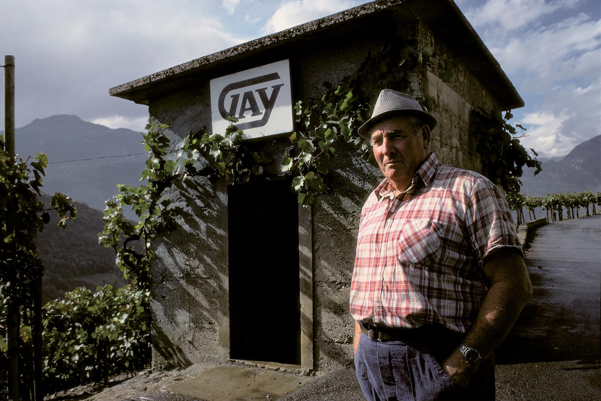 guérite Maurice Gay & vigneron