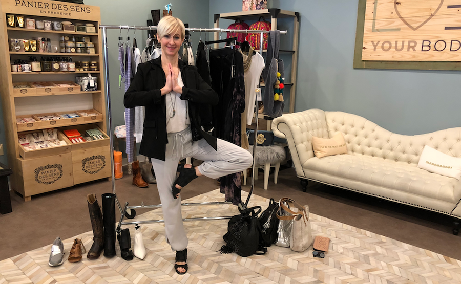 VIDEO: Activewear from Down Dog to Date Night!