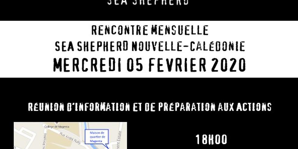 05/02/2020 Réunion mensuelle