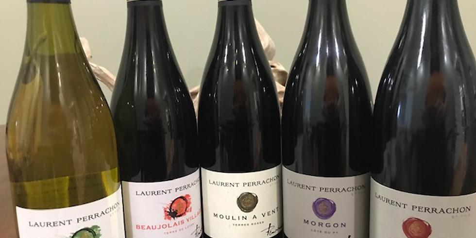 Laurent Perrachon Wine Tasting