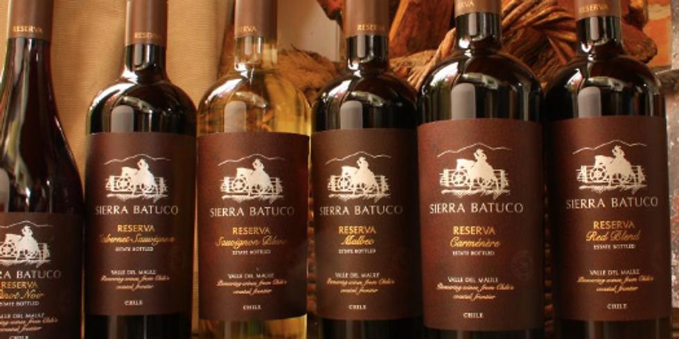 Sierra Batuco Wine Tasting