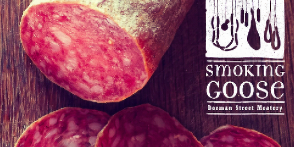 Smoking Goose Charcuterie with a choice selection of Italian Wines