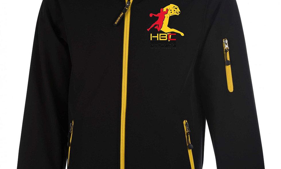 Softshell noir HBC