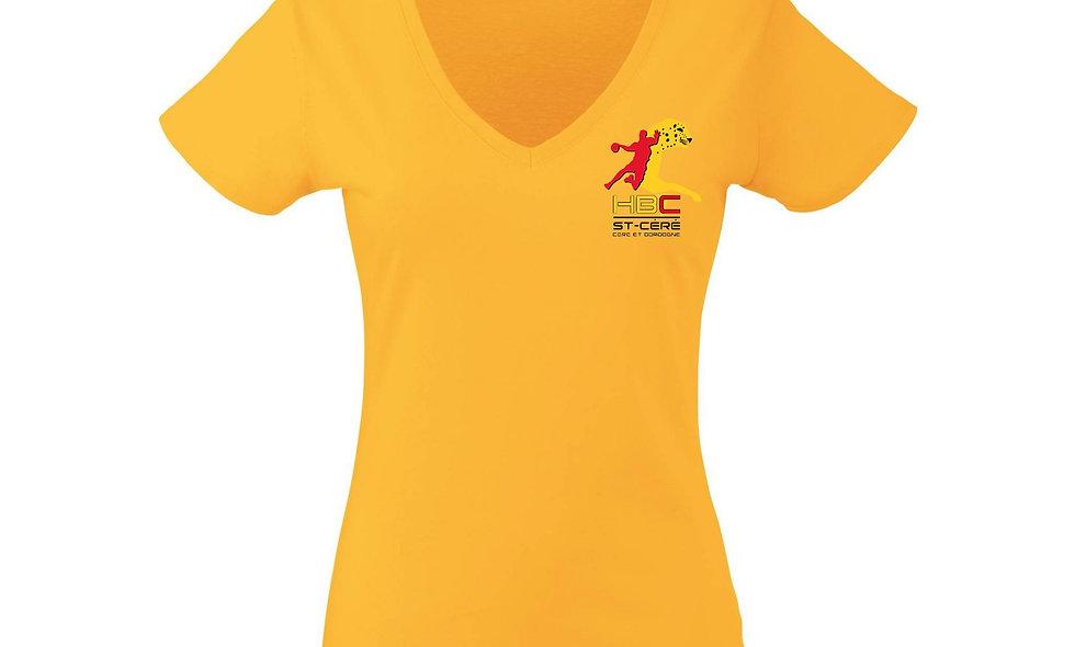 T-Shirt jaune (F)