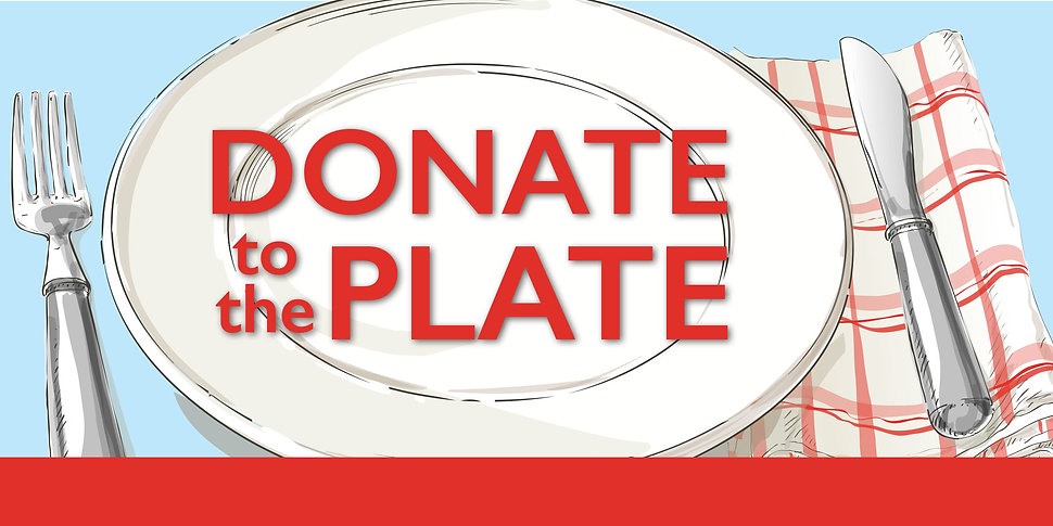 Donate to the Plate