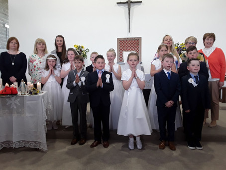 FIRST HOLY COMMUNION DAY