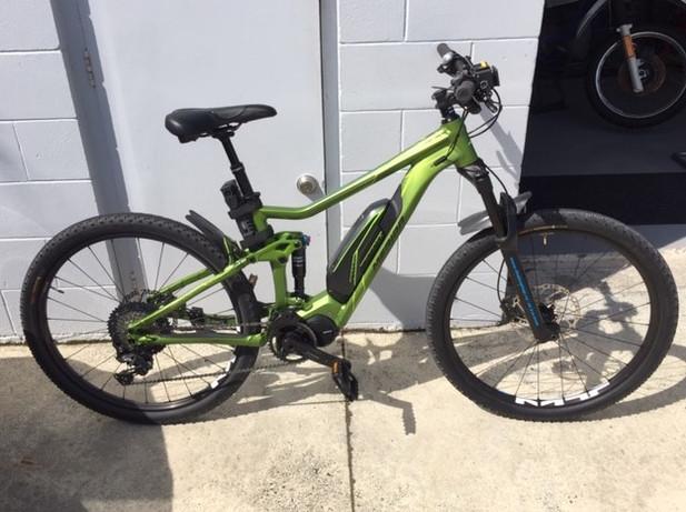 Green E Bike