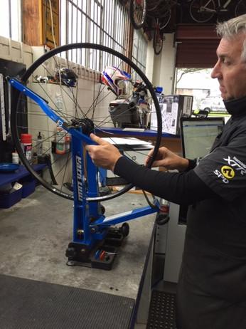 Bike Repair Wheel True