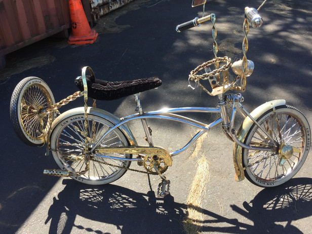Gold Bling Chopper Restoration