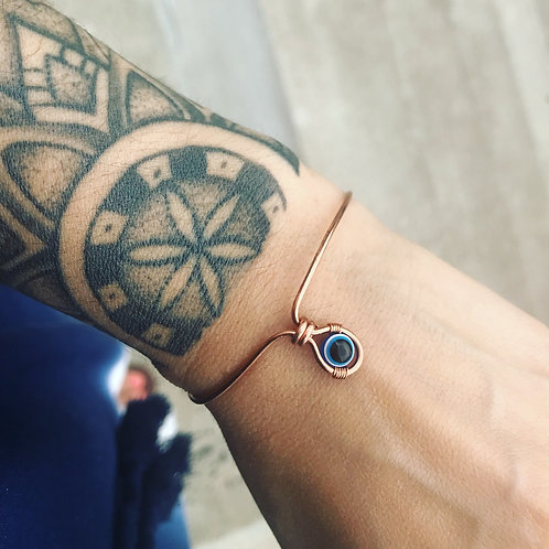 Evil Eye Bracelet w/Copper