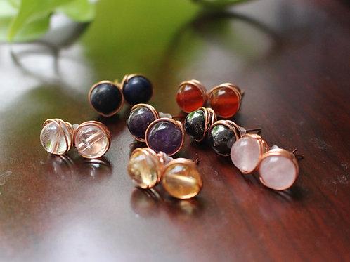 Chakra Beaded Earrings