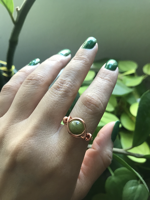 Copper rings- Medium (6-8mm)