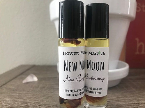 New Moon Ritual Oil