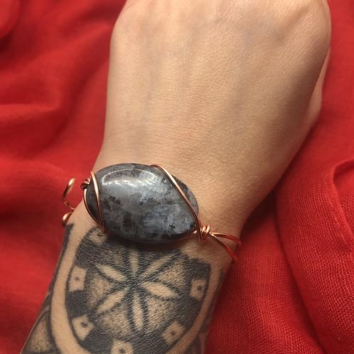 Labradorite Bracelet w/copper