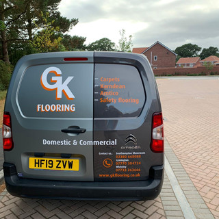 GK Carpets And Flooring Van
