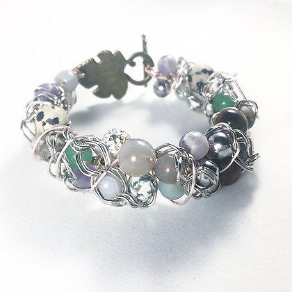Bracelet: A Little Silver