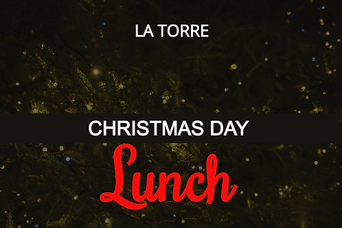 [3-5.30pm] Christmas Day Lunch Deposit