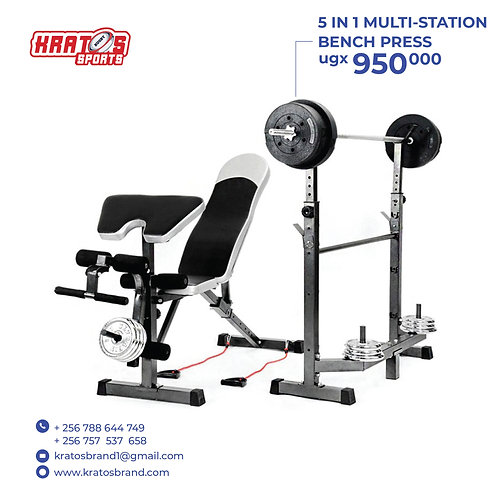 5 in 1 Multi-station bench press