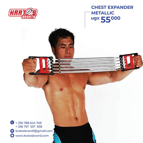 Chest Expander Metallic