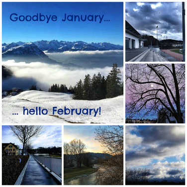 Goodbye January, hello February!