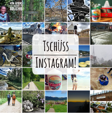 Tschüss Instagram