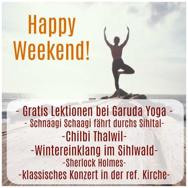 Hallo Wochenende!