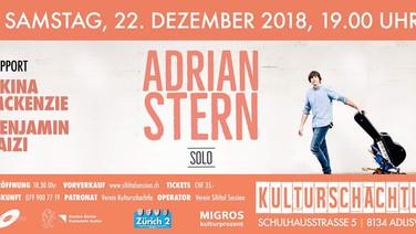 22.12.2018: Weihnachtskonzert mit Adrian Stern