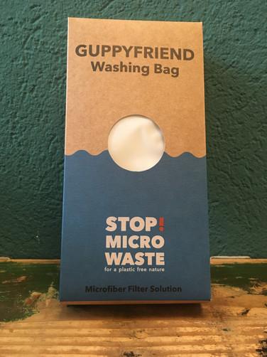 Waschbeutel gegen Mikroplastik