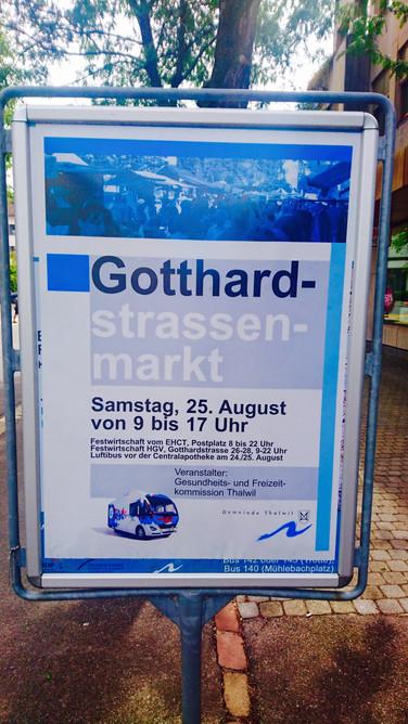 Gotthardstrassenmarkt in Thalwil