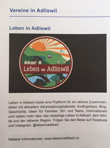Leben in Adliswil im Stadtbrief
