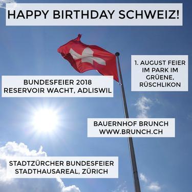 Happy Birthday Schweiz!