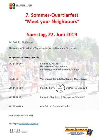 Meet your Neighbours