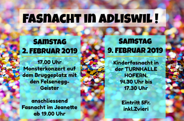 Fasnacht in Adliswil.