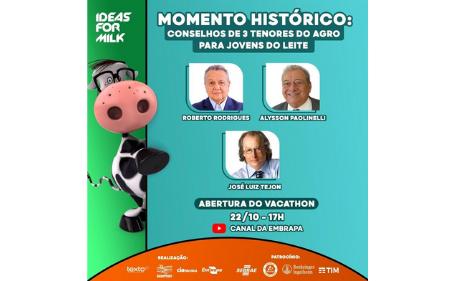 Vacathon, maratona de inovação, fomenta a pesquisa no mercado de leite