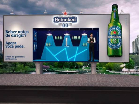 Heineken 0.0 leva Outdoor Bar para as ruas do Rio