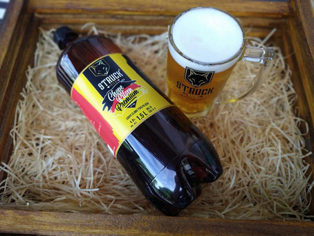 A Pilsen de ouro da Struck Bier