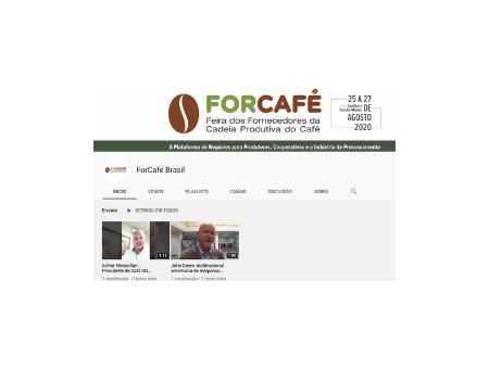 Agora a ForCafé tem um canal exclusivo no YouTube