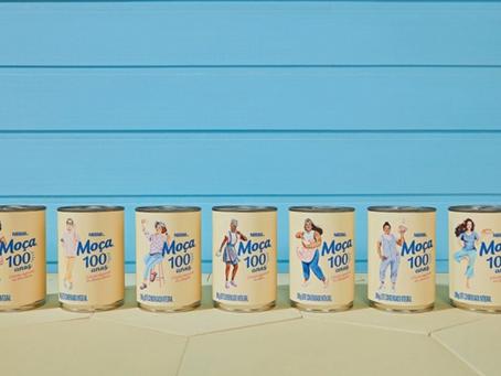 Leite Moça cria latas comemorativas