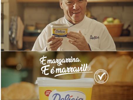 Delícia lança versão com creme de leite e estreia campanha com chef Claude Troisgros