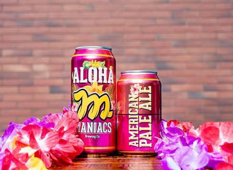 Maniacs Brewing Co. lança Aloha em lata
