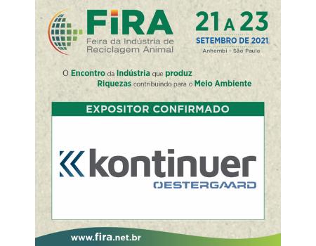 Kontinuer garante presença na FIRA 2021