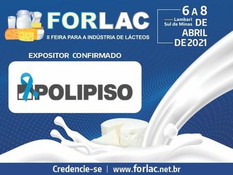 Polipiso do Brasil confirma participação na Forlac 2021