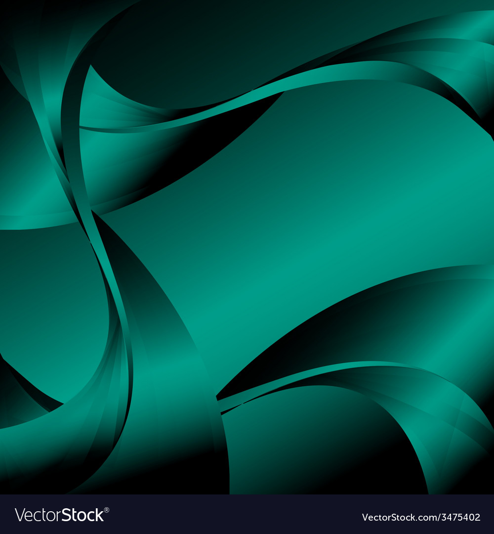 abstract-curve-dark-green-background-vec