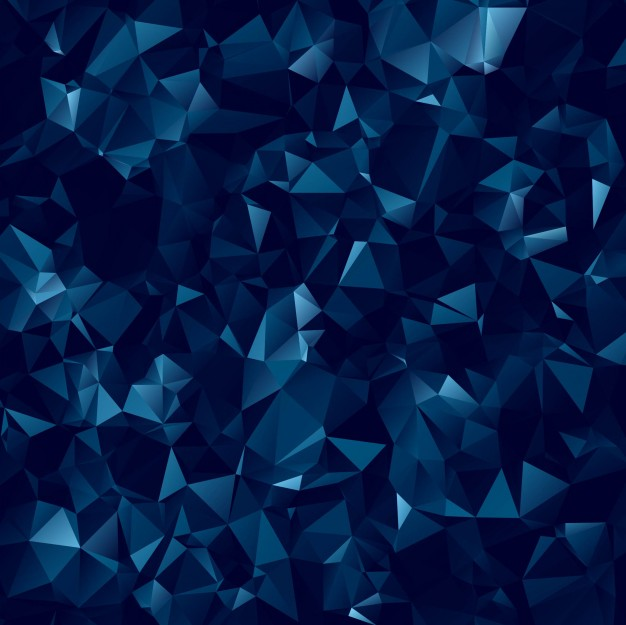 abstract-dark-blue-polygonal-background_