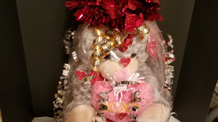 Women Ex Small Valentine Basket