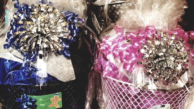 Raffle Giveaway Medium Basket